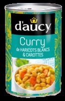 Curry de Haricots Blancs et Carottes