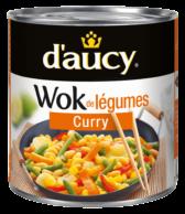 Wok de légumes - Curry