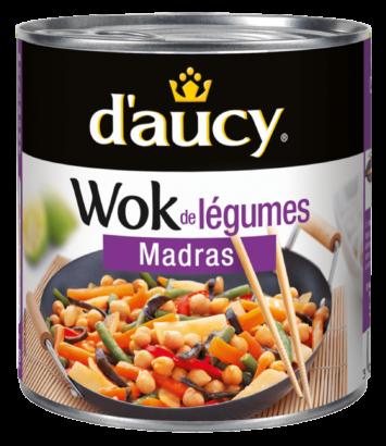 Wok de légumes - Madras