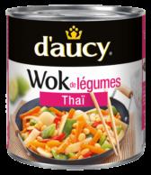 Wok de légumes - Thaï
