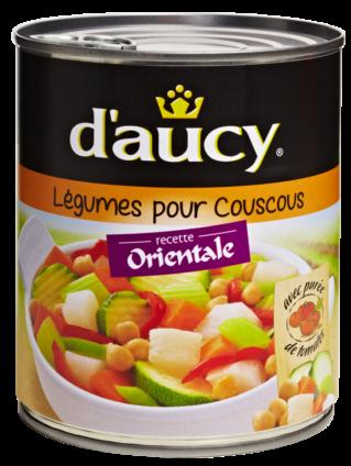 Légumes cuisinés pour Couscous